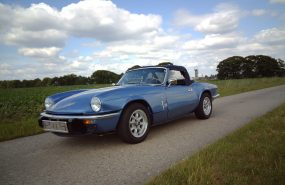 Triumph Spitfire 1500 met overdrive
