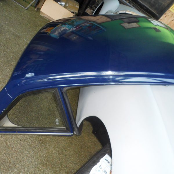 hardtop tr6 blue