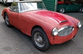 Austin Healey MKII restauratieproject