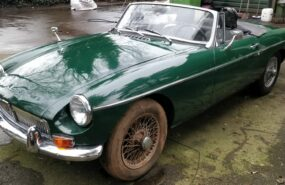 MGB roadster '67 restauratie